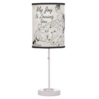 Mi alegría es lámparas de mesa de los niños del vi