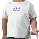 Mi alma sabe camisetas