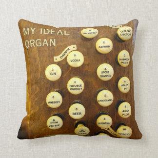 Mi almohada de tiro ideal del órgano
