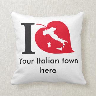 Mi almohada italiana cojín decorativo