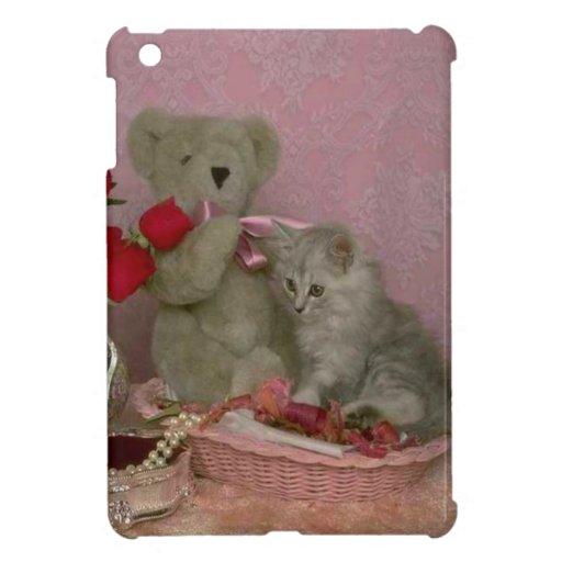Mi amigo el gatito iPad mini carcasa