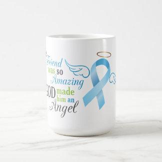 Mi amigo un ángel - cáncer de próstata taza