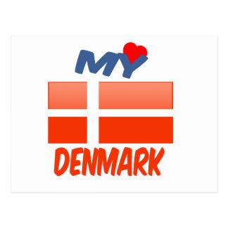 Mi amor Dinamarca Postal