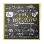 Mi amor e inspiración CeramicTile de los niños Azulejos Ceramicos