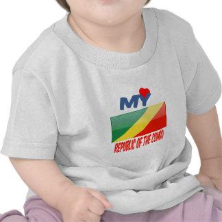 Mi amor el República del Congo Camisetas