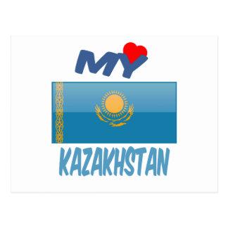 Mi amor Kazajistán Postal