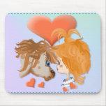 Mi amor Mousepad de PonyZ Alfombrilla De Ratón