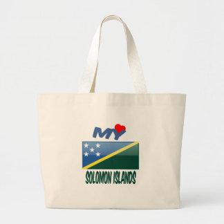 Mi amor Solomon Island Bolsas De Mano