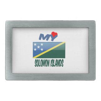 Mi amor Solomon Island Hebillas De Cinturon