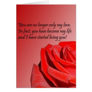 Mi amor tarjeta de felicitación