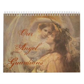 Mi ángel, nuestros guardas del ángel calendarios