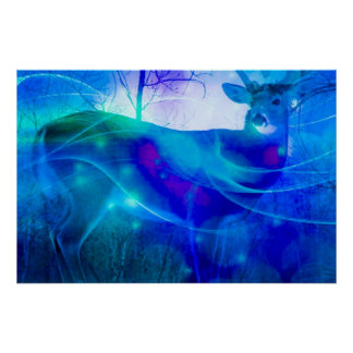 Mi animal del poder, shamanism, curador Anita Posters