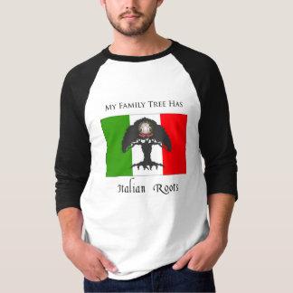 """""""Mi árbol de familia tiene camiseta de raíces Remera"""