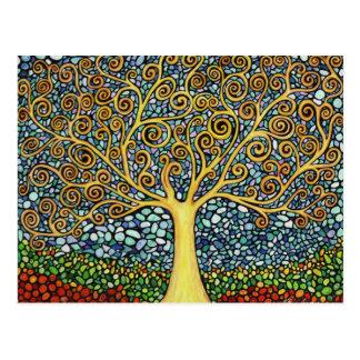 Mi árbol de la vida tarjetas postales