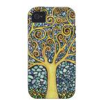 Mi árbol de la vida vibe iPhone 4 carcasas
