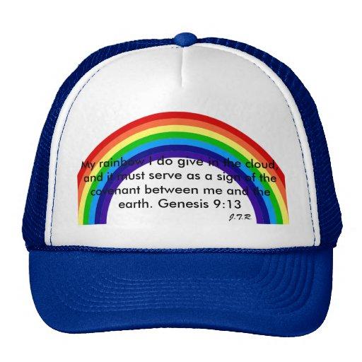 Mi arco iris del SOMBRERO del AMOR Gorras