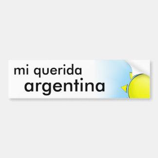 Mi Argentina Bumper Sticker