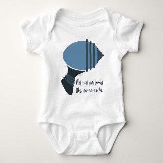 Mi arma de rayo parece No-Ningunas piezas Body Para Bebé