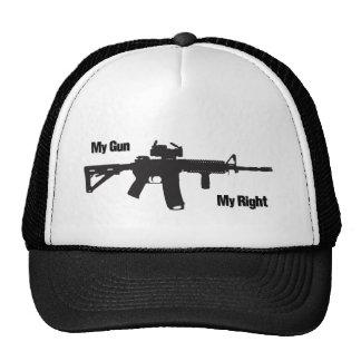 Mi arma la mi derecha gorro de camionero
