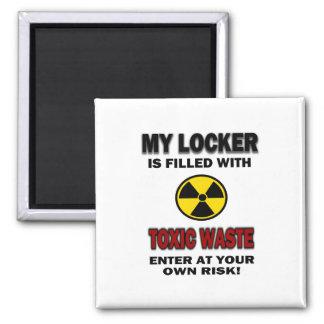 Mi armario se llena de la basura tóxica imanes para frigoríficos