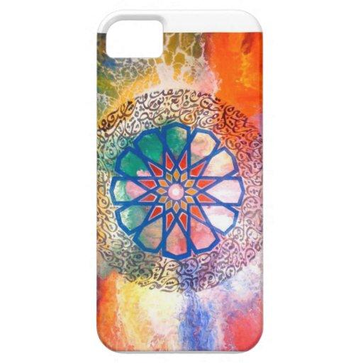 Mi arte islámico iPhone 5 fundas