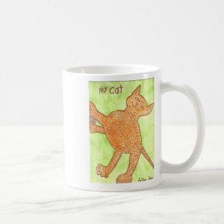 Mi autismo de la taza de la taza del gato