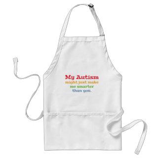Mi autismo pudo apenas hacerme más elegante que delantal