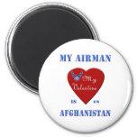 Mi aviador, mi tarjeta del día de San Valentín Imán Para Frigorífico