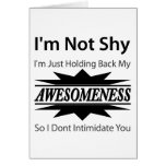 ¡Mi Awesomeness! Tarjetas