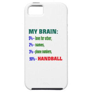 Mi balonmano del cerebro el 90% iPhone 5 protectores