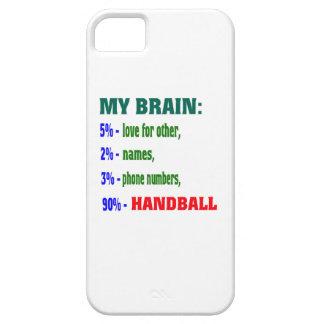 Mi balonmano del cerebro el 90% iPhone 5 Case-Mate funda