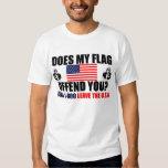 ¿Mi bandera le ofende? Playera