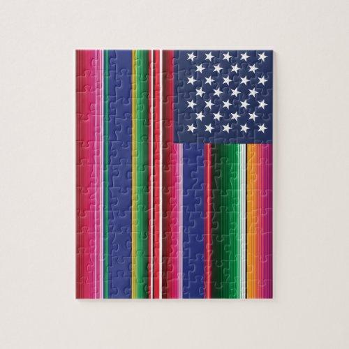 Mi Bandera Print Jigsaw Puzzle
