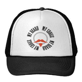 Mi barba, mi opción - perilla roja gorra
