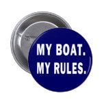Mi barco. Mis reglas - canotaje divertido Pin