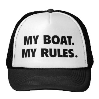 Mi barco. Mis reglas Gorra