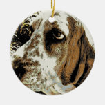 Mi Basset Hound Ornaments Para Arbol De Navidad
