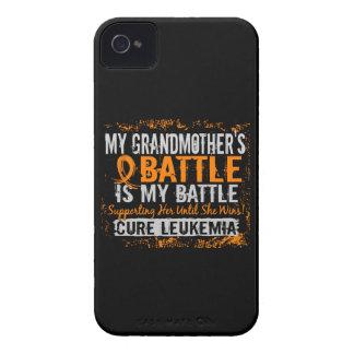 Mi batalla abuela de demasiado 2 leucemias Case-Mate iPhone 4 carcasas