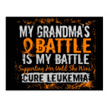 Mi batalla abuela de demasiado 2 leucemias postal