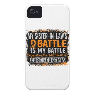 Mi batalla cuñada de demasiado 2 leucemias iPhone 4 Case-Mate cárcasa