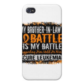 Mi batalla cuñado de demasiado 2 leucemias iPhone 4 cárcasa