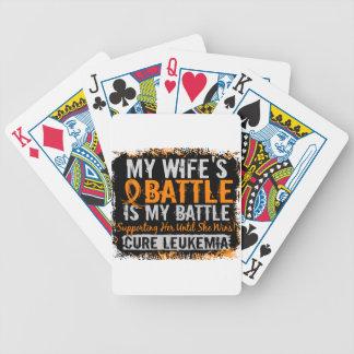 Mi batalla esposa de demasiado 2 leucemias barajas de cartas