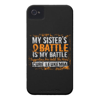 Mi batalla hermana de demasiado 2 leucemias Case-Mate iPhone 4 cobertura