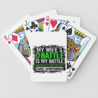 Mi batalla linfoma de demasiado 2 esposas cartas de juego