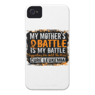 Mi batalla madre de demasiado 2 leucemias iPhone 4 Case-Mate carcasas