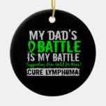 Mi batalla mamá de demasiado 2 leucemias ornamento para reyes magos