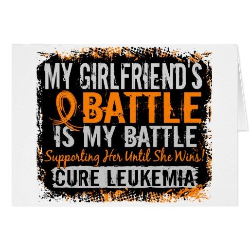 Mi batalla novia de demasiado 2 leucemias felicitacion