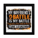 Mi batalla novio de demasiado 2 leucemias caja de recuerdo
