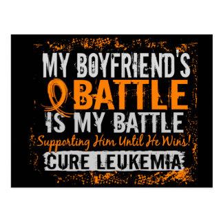 Mi batalla novio de demasiado 2 leucemias postal