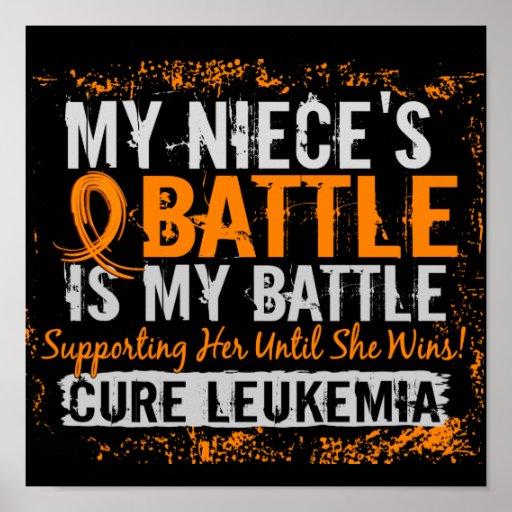 Mi batalla sobrina de demasiado 2 leucemias póster